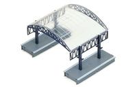 Station Over-roof Kit - 00 Gauge