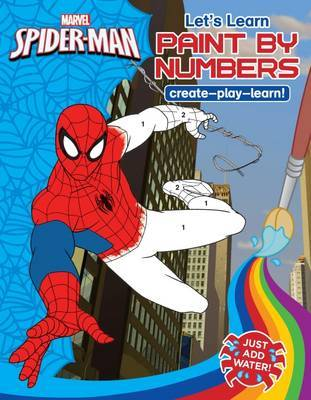 Marvel Learning: Spider-Man: Let's Learn Paint By Numbers