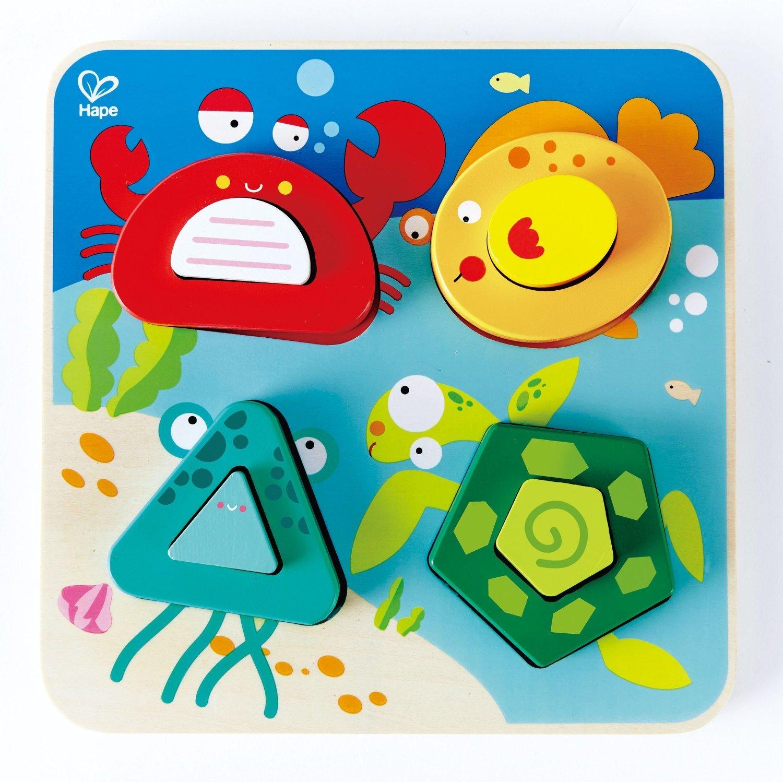 Hape: Underwater Escape Wooden Puzzle image