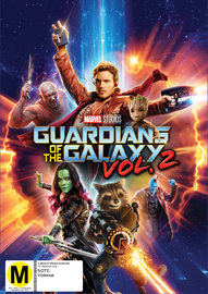 Guardians of the Galaxy Vol. 2 on DVD image