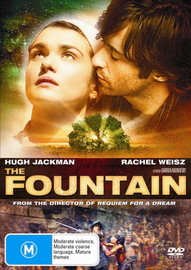 The Fountain on DVD image