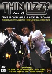 Thin Lizzy - The Boys Are Back In Town: Live 78 on DVD