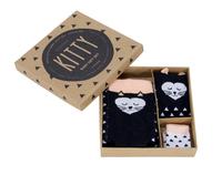 Boxed Baby Sock Set - Kitty