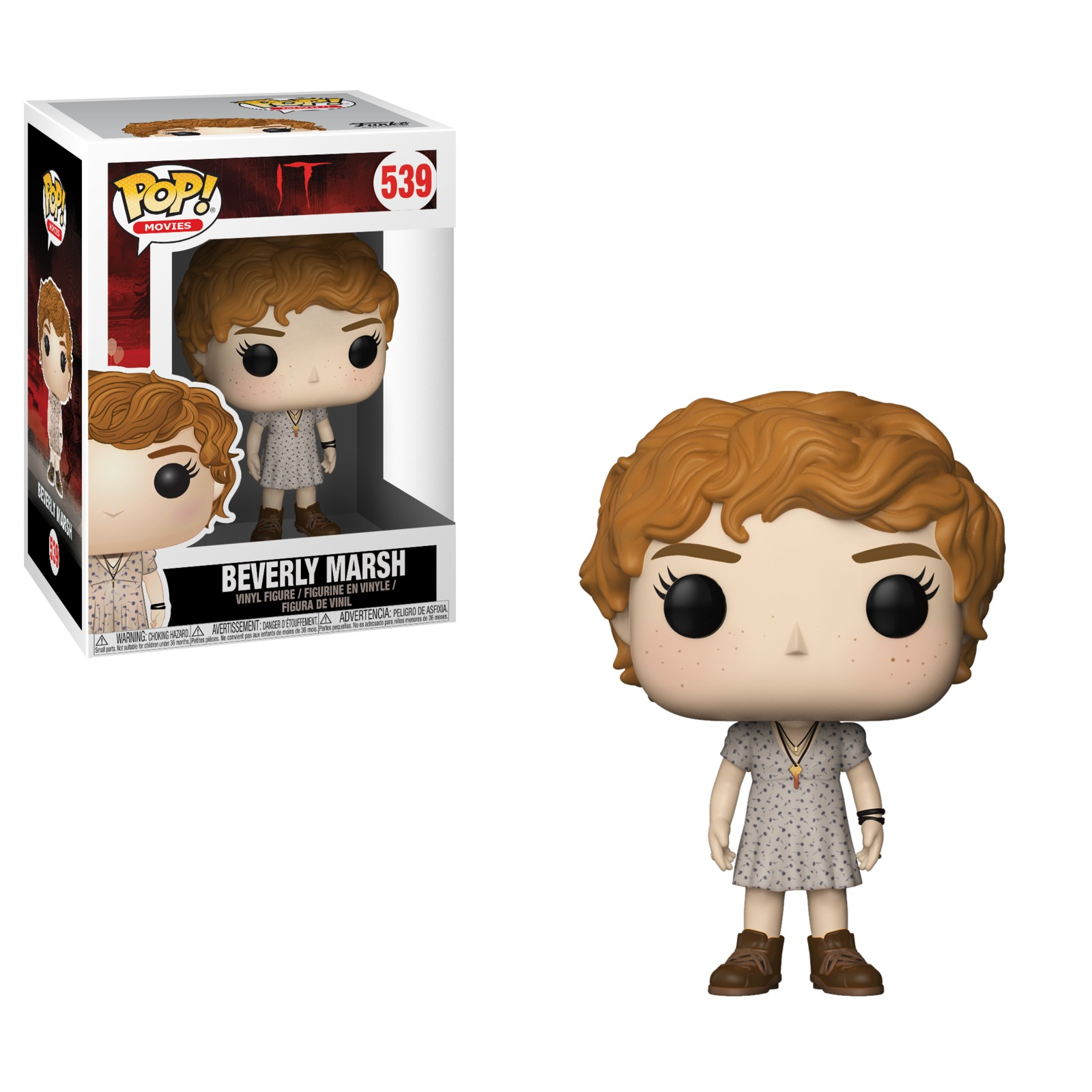 IT (2017) - Beverly Marsh Pop! Vinyl Figure (with a chance for a Chase version!) image