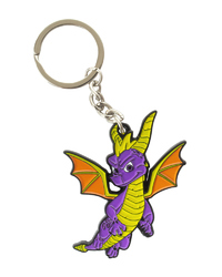 Spyro Metal Key Chain