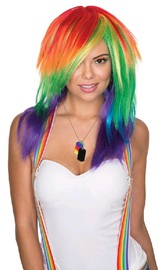 Rubie's: Celebration Wig - Rainbow (Adult)