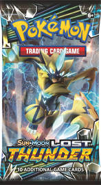 Pokemon TCG: Lost Thunder - Single Booster (10 Cards)