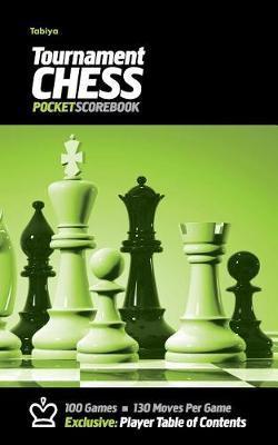 Tabiya Tournament Chess Pocket Scorebook by Precision Chess
