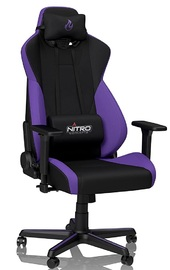 Nitro Concepts S300 Fabric Gaming Chair - Nebula Purple for