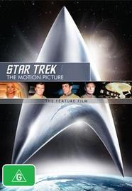 Star Trek I: The Motion Picture - The Feature Film DVD