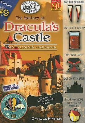 The Mystery at Dracula's Castle by Carole Marsh image