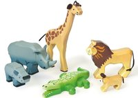 Budkins Savannah Wild Animal Set