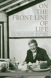 On the Front Line of Life by Alan Bowker image
