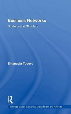 Business Networks by Emanuela Todeva