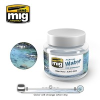Acrylic Water- Clear Water (250ml)