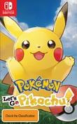 Pokemon Let's Go Pikachu! for Nintendo Switch