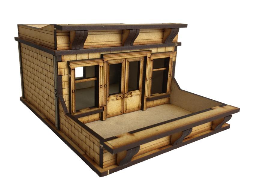 TTCombat: Tabletop Scenics - Brownstone Roof Terrace image