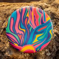 Waboba: Wingman Foldable Frisbee - Groovy Rainbow