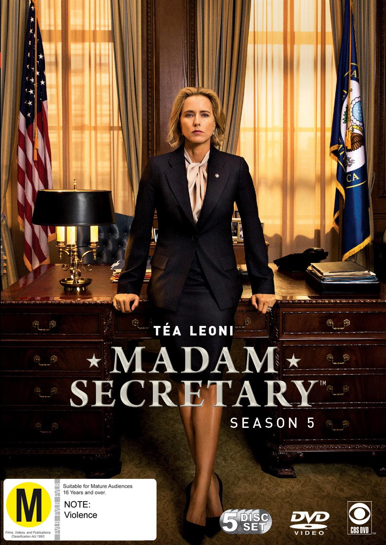 Madam Secretary - The Complete Fifth Season on DVD image