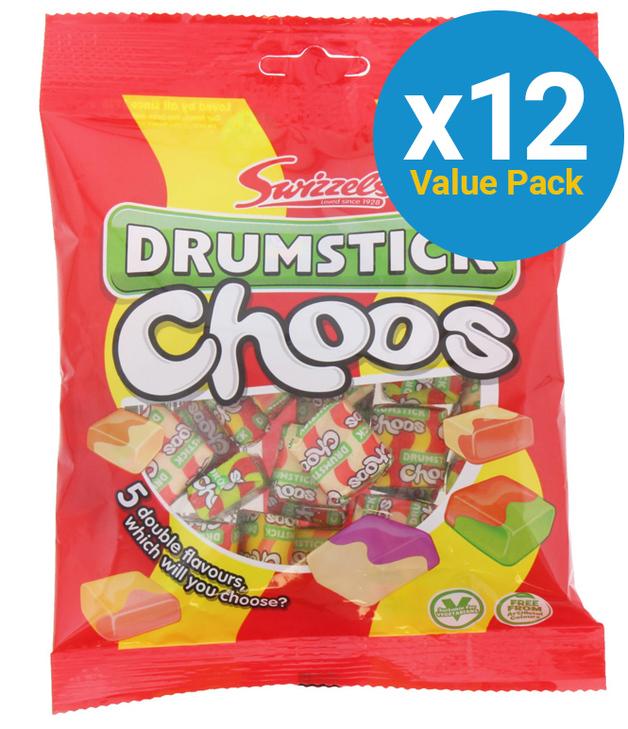 Swizzels: Drumsticks Choos 150g (12 Pack)