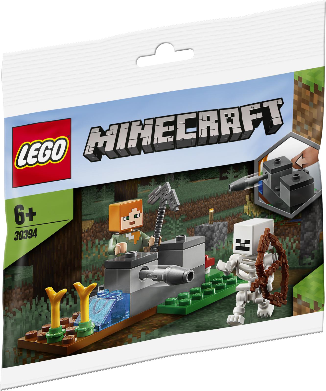 Lego: Minecraft - The Skeleton Defense image