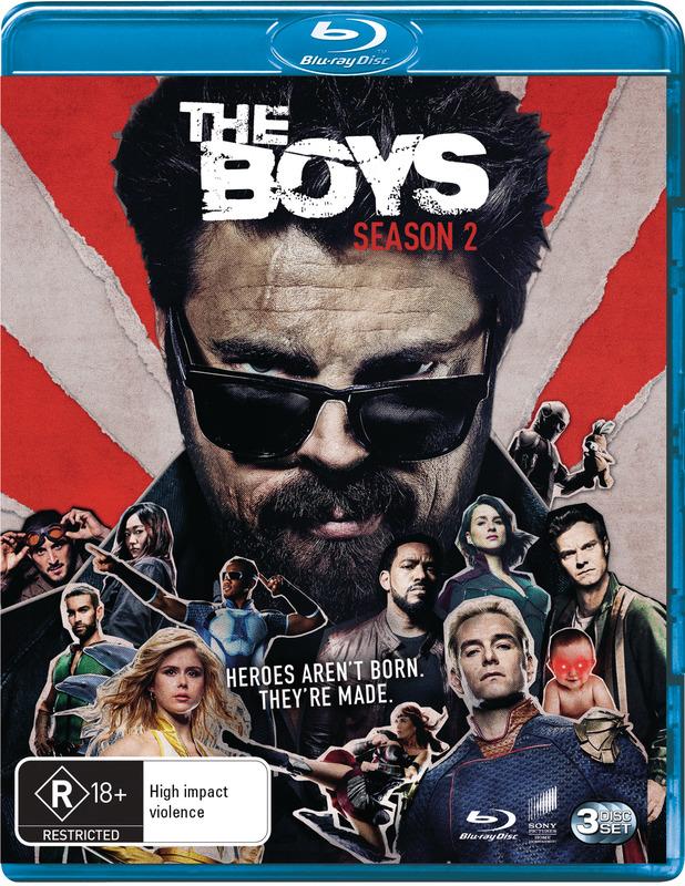 The Boys: Season 2 on Blu-ray