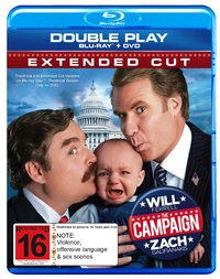 The Campaign - Double Play on DVD, Blu-ray