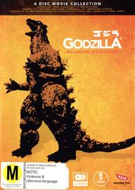 Godzilla - Millennium Series Box Set on DVD image