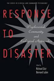Response to Disaster by Richard Gist image