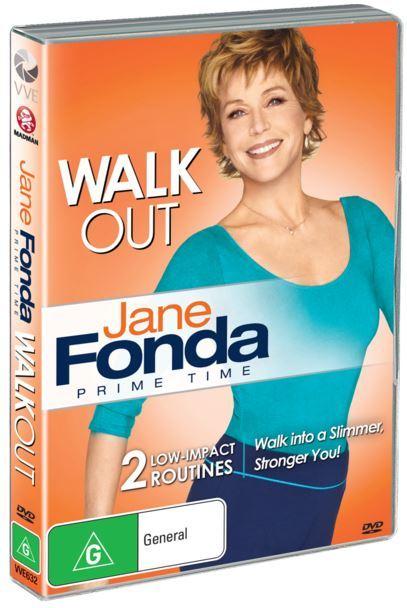 Jane Fonda Walkout on DVD