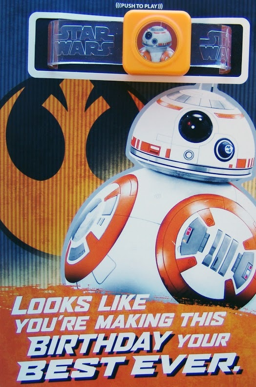 Buy Star Wars Interactive Sound Birthday Card Droid At Mighty Ape