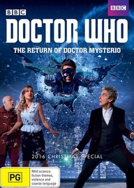 Doctor Who - The Return Of Doctor Mysterio (2016 Christmas Special) on DVD