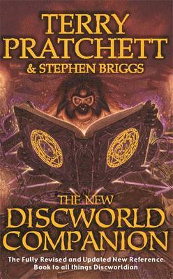 The New Discworld Companion by Terry Pratchett image