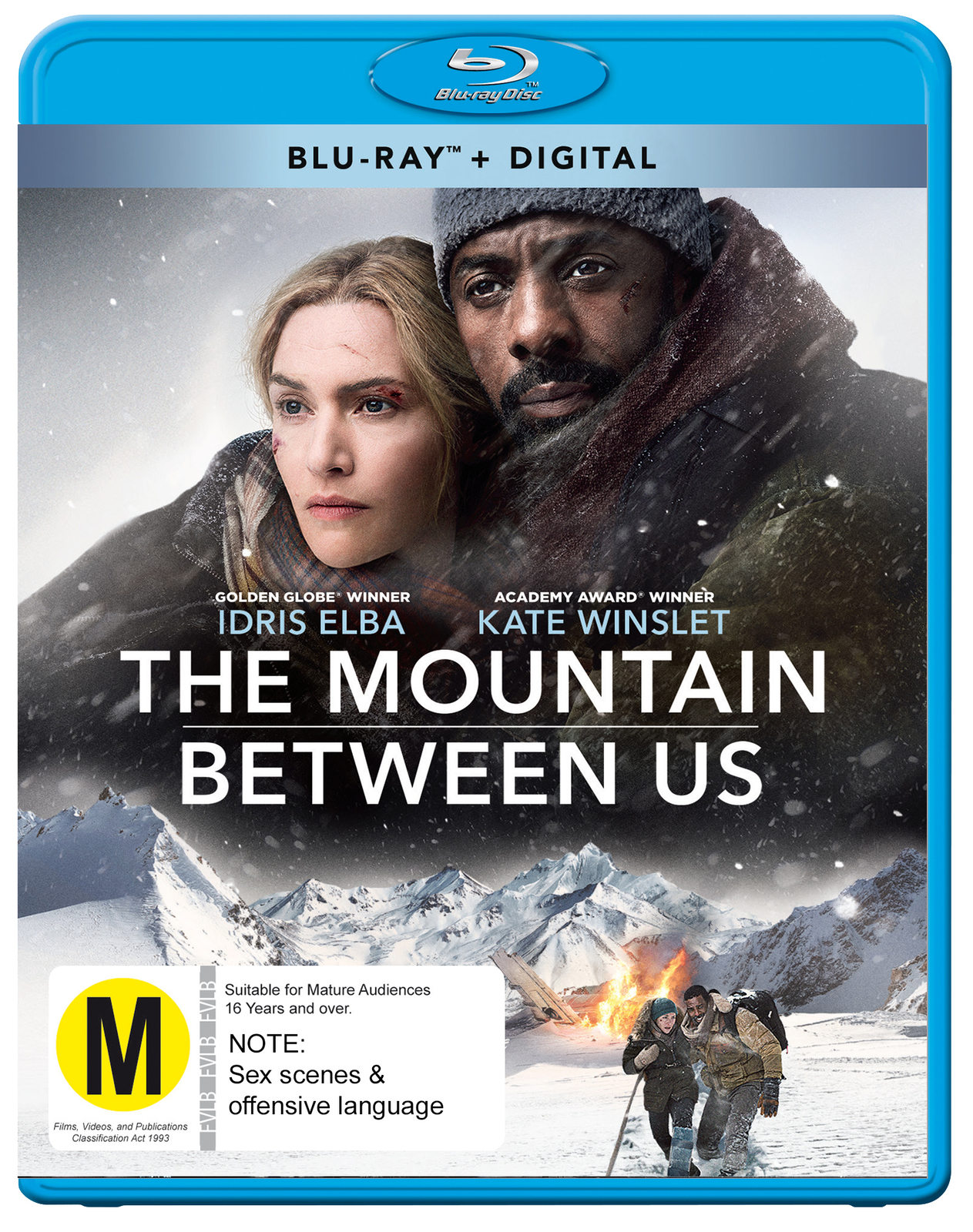 The Mountain Between Us on Blu-ray image