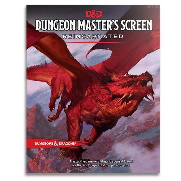 Dungeons & Dragons: Dungeon Masters Screen ~ REINCARNATED