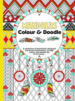 Mandalas Colour & Doodle image