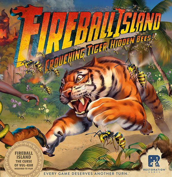 Fireball Island the Curse of Vul-Kar: Crouching Tiger, Hidden Bees!