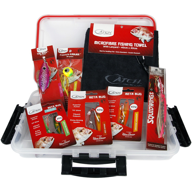 Catch Snapper Value Pack with Tackle Box