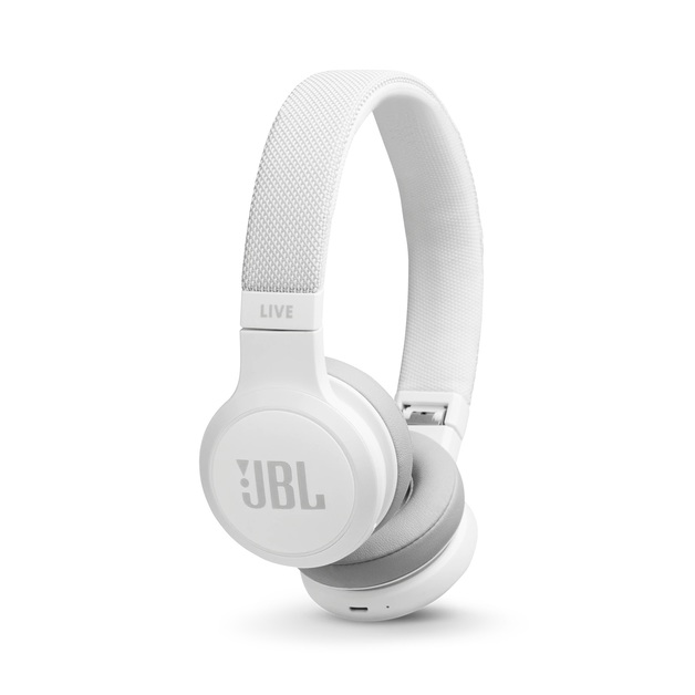 JBL Live 400 Bluetooth Headphones - White