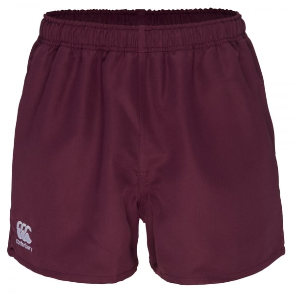 Professional Polyester Short - Maroon (L)