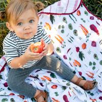 Little Unicorn: Cotton Muslin Quilt - Farmers Market image