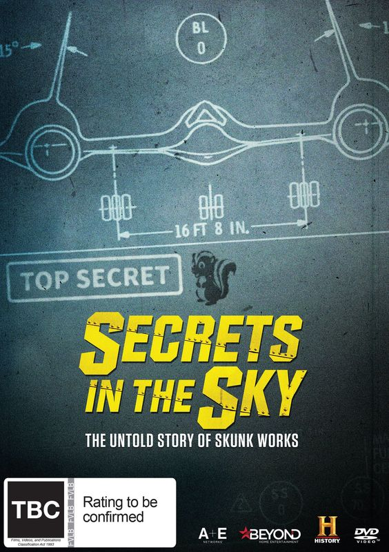 Secrets In The Sky: The Untold Story Of Skunk Works on DVD