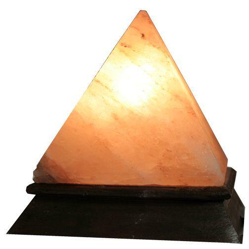 Pyramid Shaped Himalayan Salt Lamp