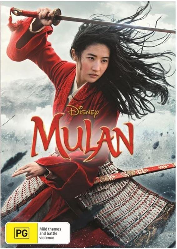 Mulan (2020) on DVD