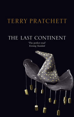 The Last Continent (Discworld - Rincewind / The Wizards) (black cover) by Terry Pratchett image