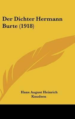 Der Dichter Hermann Burte (1918) by Hans August Heinrich Knudsen image