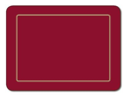 Embassy Red Placemats (Set 6) image