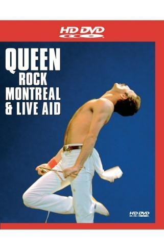 Queen - Rock Montreal & Live Aid on HD DVD
