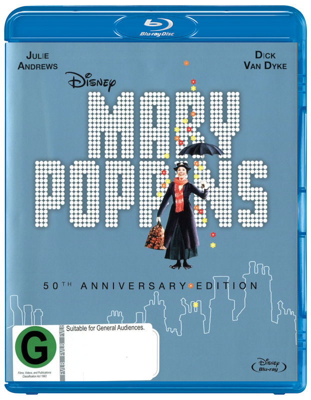 Mary Poppins on Blu-ray