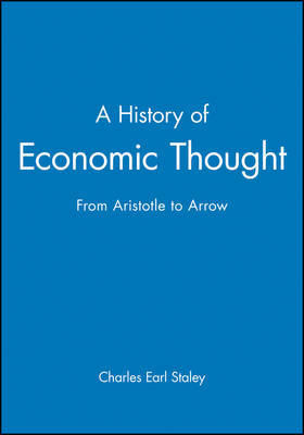 A History of Economic Thought by Charles E. Staley image
